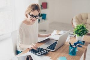 Ein häusliches Arbeitszimmer kann mehr berufliche Flexibilität ermöglichen.