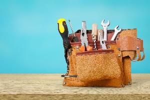 Zur Betriebsausstattung gehören beispielsweise Werkzeuge.