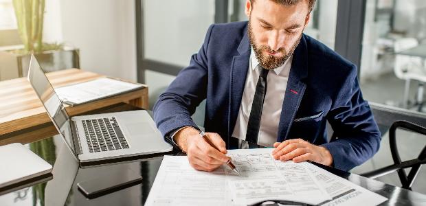 Businessplan-Betriebsausgabe