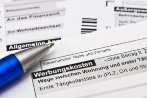 Werbungskosten, Fahrtenbuch, Fahrtkosten steuerlich absetzen
