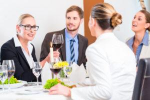 Kundenpflege mittels Geschäftsessen, Absetzbarkeit von Bewirtungskosten