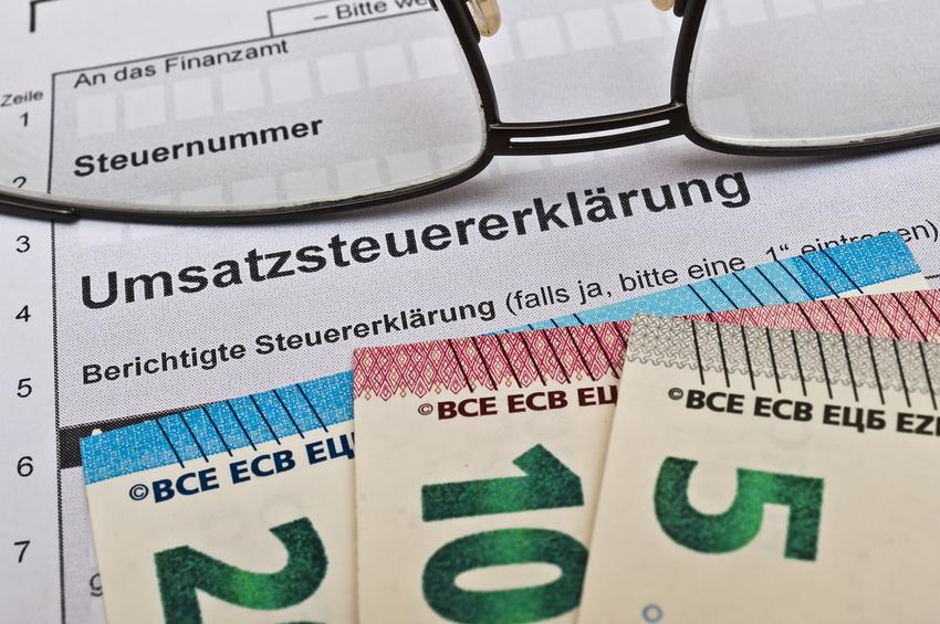 Gühren für ebay und Paypal konten bei der Umsatzsteuererklärung geltend machen
