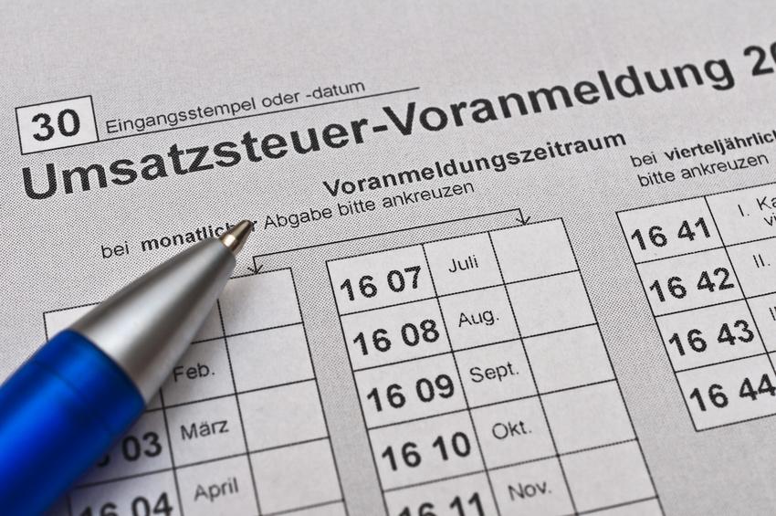 Finanzamt Umsatzsteuererklrung ausfllen