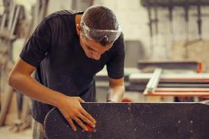 Auch die beruflich genutzte Werkstatt ist abzugsfähig.