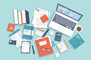 Unternehmen können unter anderem die Büroausstattung abschreiben.