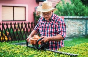 Eine private Unfallversicherung kann bspw. einspringen, wenn Sie sich bei der Gartenarbeit verletzen.